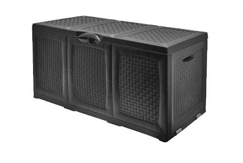 auflagenbox 380 liter in schwarz - Auflagenbox 380 Liter in Schwarz