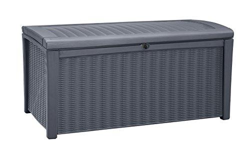 keter aufbewahrungsbox borneo grau 416l - Keter Aufbewahrungsbox Borneo, Grau, 416L