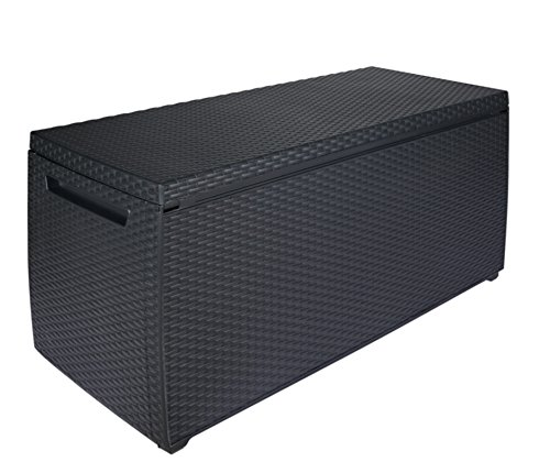 keter auflagen und universal rattan style box capri 305 l grau - Keter Auflagen- und Universal Rattan Style Box Capri, 305 L, grau