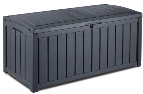 keter kissenbox glenwood grau 390l - Keter Kissenbox Glenwood, Grau, 390L